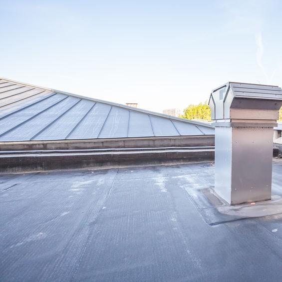 black roof