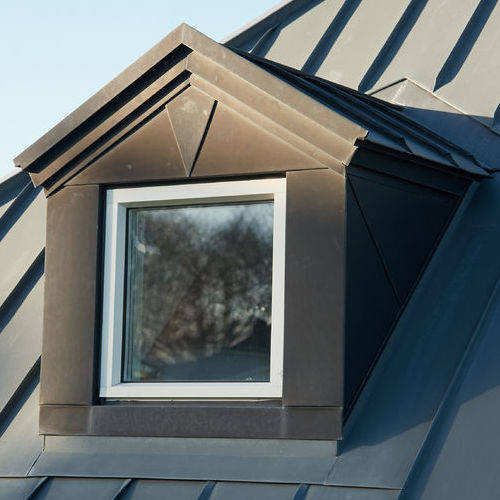 A Metal Roof on a Home.