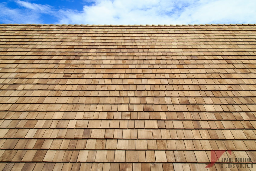 Synthetic Shingle Installation Completed