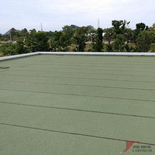 A Completed Emergency Commercial & Residential Roof Repair