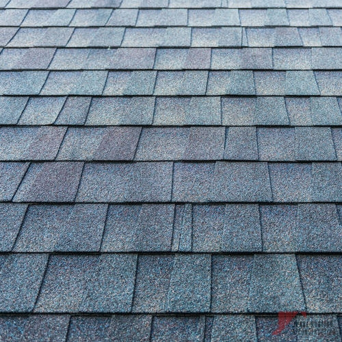Completed Gray Architectural Shingles Installation