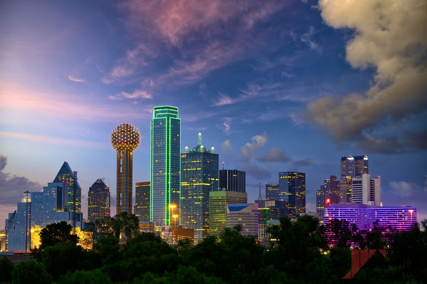 Part of Our Areas Served, the Dallas Skyline