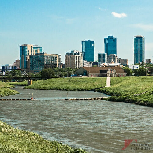 Fort Worth Skyline Which is One of Our Areas Served