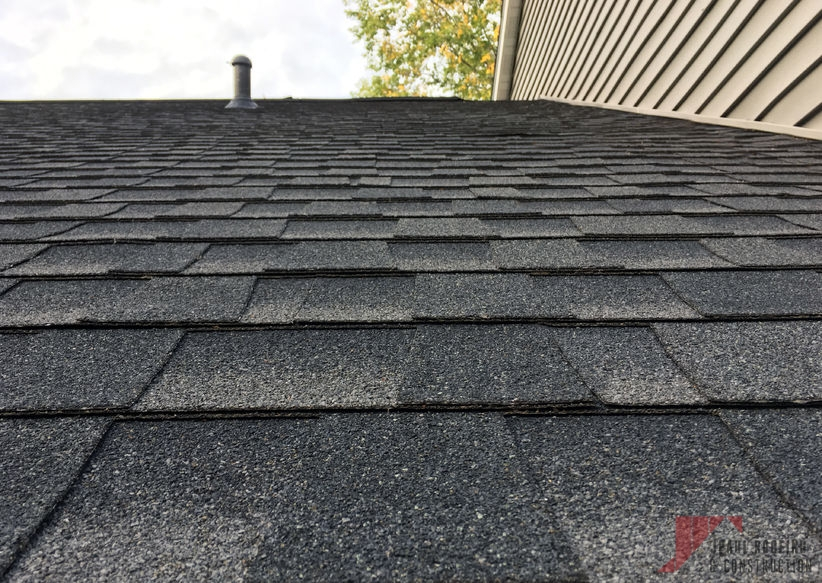 Completed Asphalt Shingle Roof Repair
