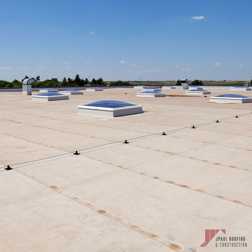 Completed Cool Roof Installation
