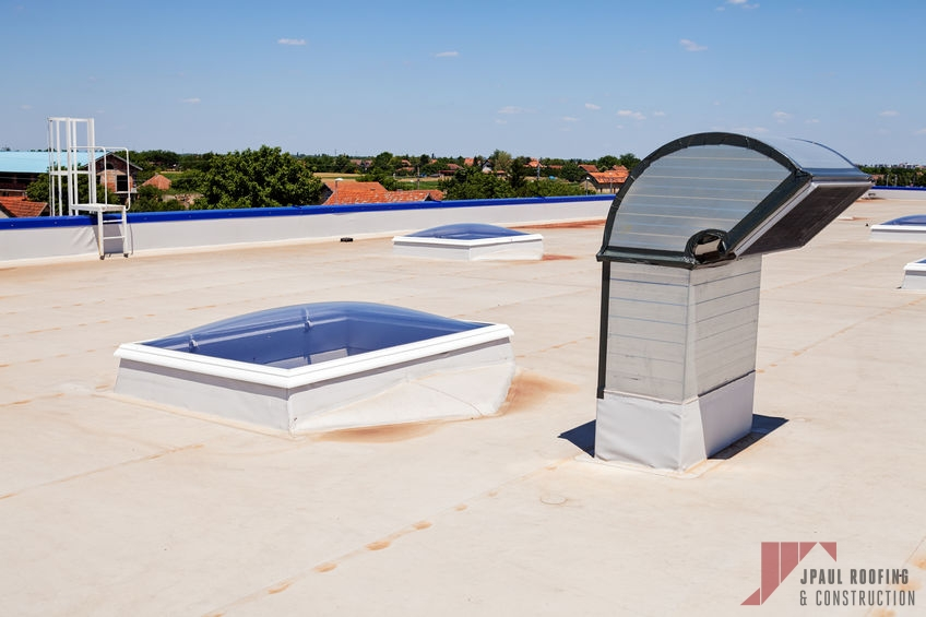 Completed Apartment Roof Installation