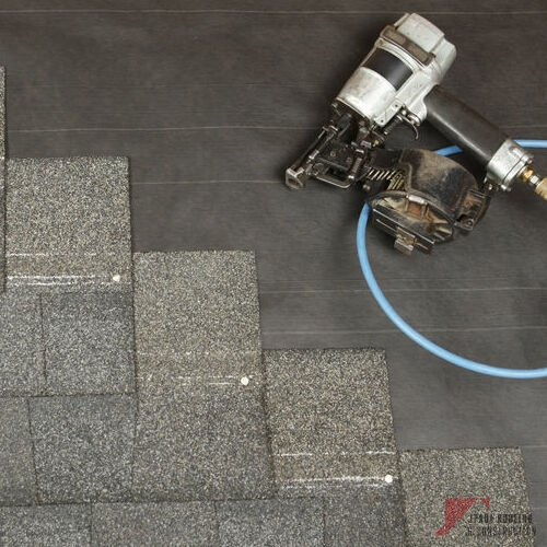 Emergency Commercial & Residential Roof Repair with Asphalt Shingles