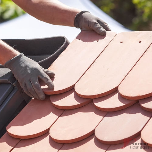 Clay Synthetic Shingle Installation