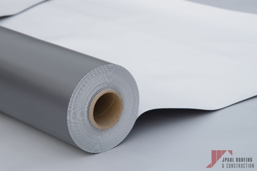 Roll of TPO Roofing